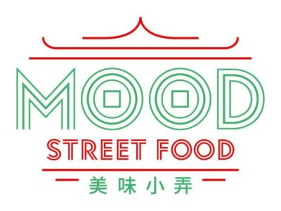 Mood street food logo